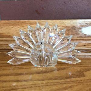 Swarovski Crystal Peacock